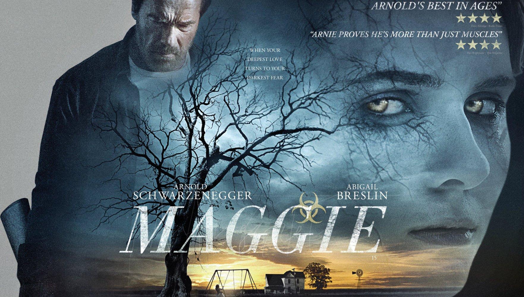 Maggie ou le contre-emploi de Schwarzenegger qui NE parvient PAS à sauver le monde ni sa fille?