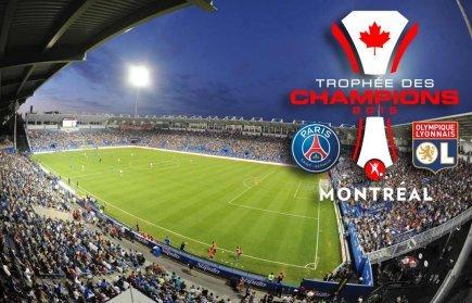 Trophée des Champions 2015 : RDS présente PSG vs l'Olympique Lyonnais