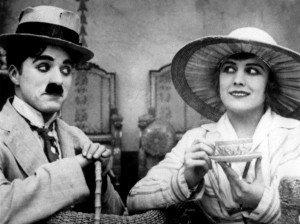 Charles Chaplin et Edna Purviance