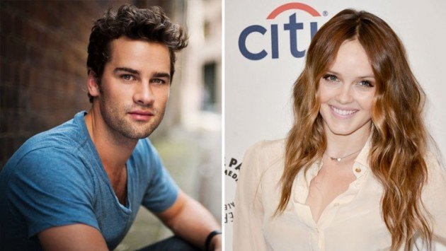 Andrew Lees (The Pacific, Your Family or Mine) et Rebecca Breeds (Pretty Little Liars, We Are Men)