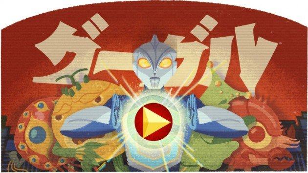 Eiji Tsuburaya Google Doodle