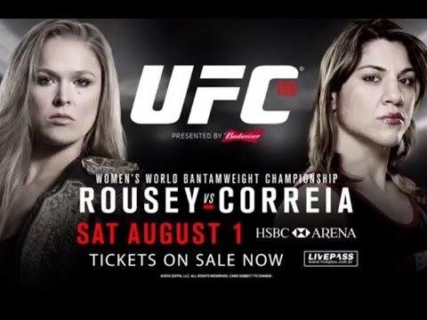 UFC 190: Rousey vs. Correia: une nouvelle bande-annonce