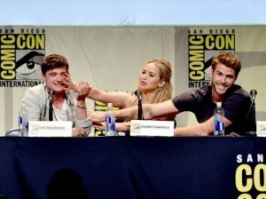 Josh Hutcherson, Jennifer Lawrence et Liam Hemsworth
