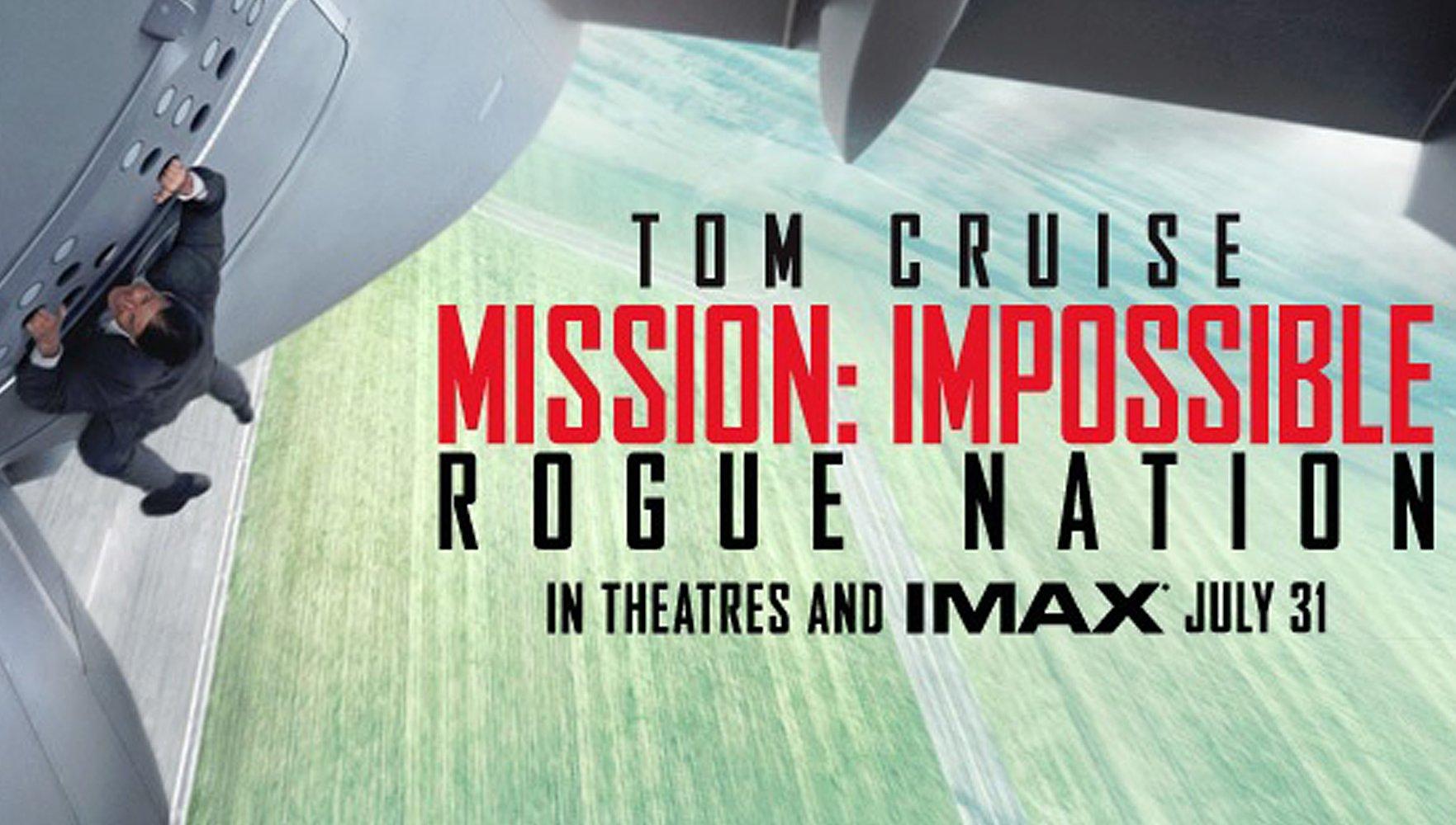 Mission: Impossible - Rogue Nation ou quand le Cruise control maintient l'erre d'aller sur la bonne voie!