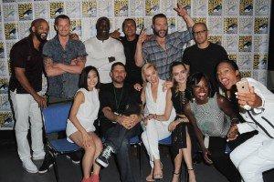 L'équipe du film le 11 juillet 2015