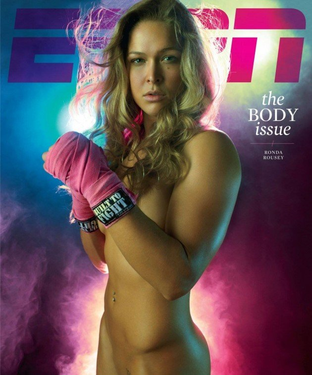 Ronda Rousey sexy naked