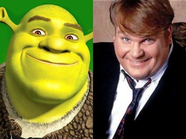 Chris Farley dans le rôle de Shrek, une vidéo refait surface