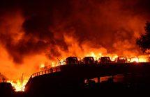 Gigantesque double explosion à Tianjin, en Chine (vidéo)