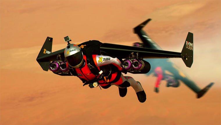 Ils survolent Dubaï avec des jetpacks!