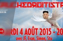 Gauchedroitistan 4 août 2015: Osheaga, Amnistie et travail du sexe, alunissage de 1969 et Kim Jong-Un