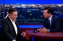 Late Show with Stephen Colbert: Elon Musk veut rendre Mars habitable