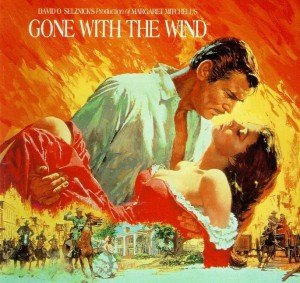 Affiche célèbre de Howard Terpning pour Gone with the Wind (1939).
