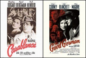 The Good German (2006) ressemble un peu trop au classique Casablanca (1942)...