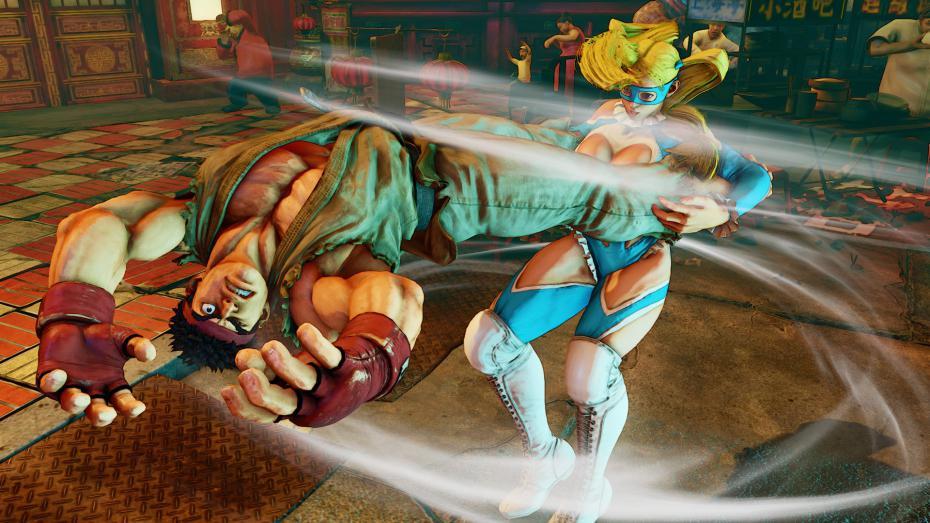 Street Fighter V : le retour de R. Mika