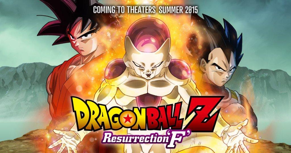 Dragon Ball Z – La Résurrection de F: Le dernier film de DBZ dans les cinémas CGR
