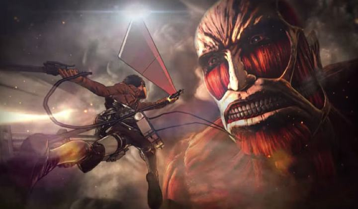 Attack on Titan: Huit minutes de gameplay