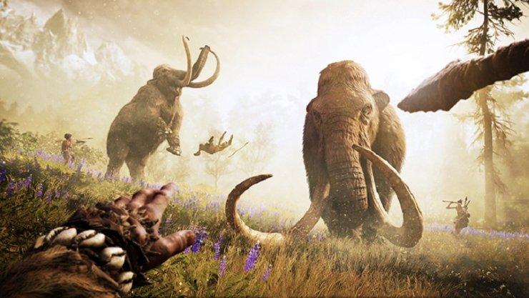 Far Cry Primal:  mammouths, tigres à dents de sabre et autres créatures légendaires