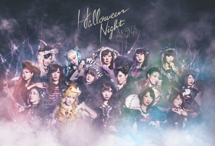 AKB48 - Halloween Night promo