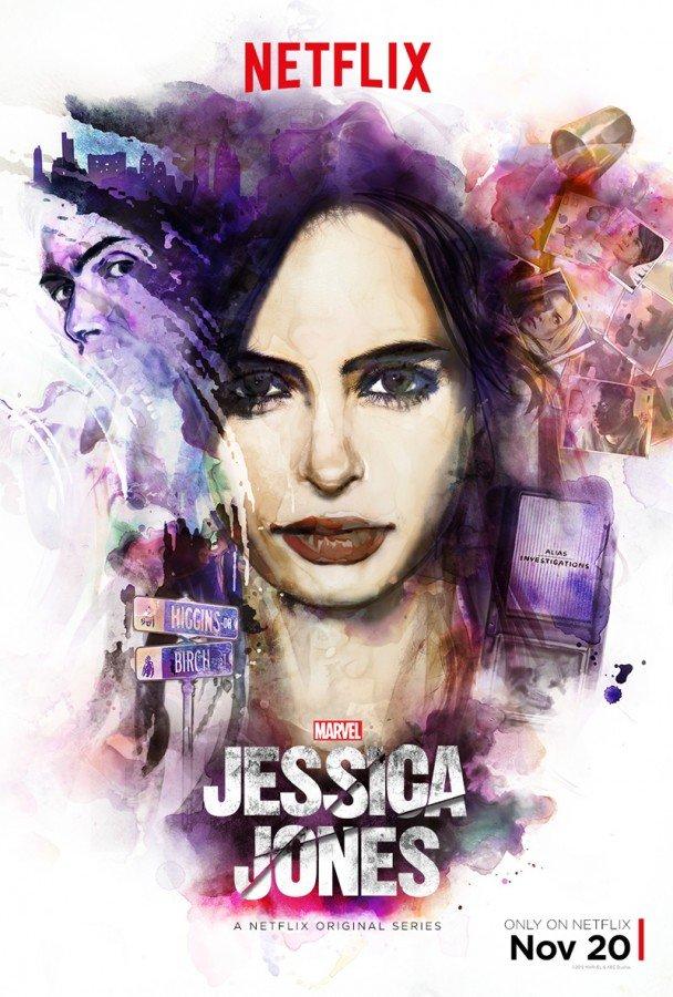 Marvel's Jessica Jones poster