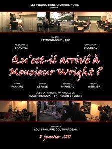 Affiche officielle de Qu'est-il arrivé à Monsieur Wright? (2010).