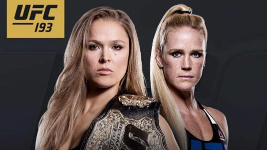UFC 193: Ronda Rousey affrontera Holly Holm