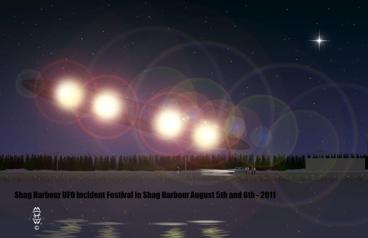 L'OVNI du 4 octobre 1967 de Shag Harbour, en Nouvelle-Écosse