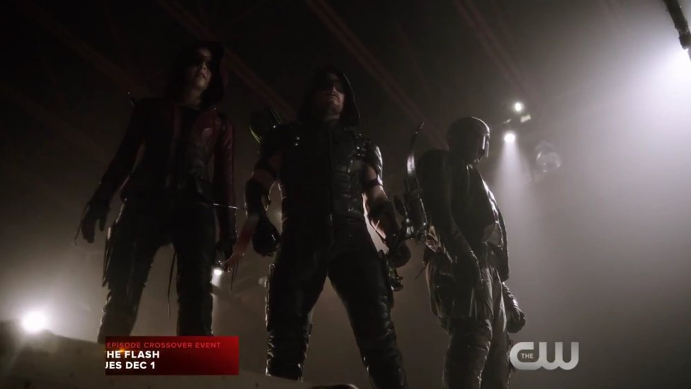 The Flash & Arrow: la bande-annonce du crossover