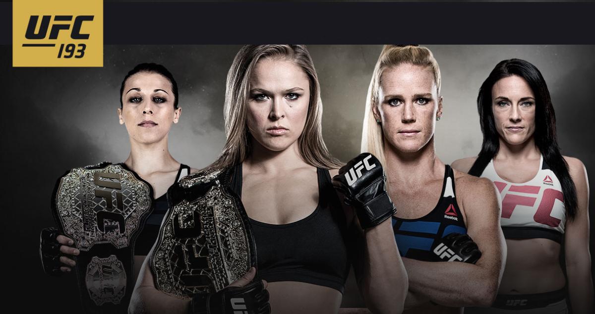 UFC 193: la pesée de Ronda Rousey et Holly Holm en vidéo