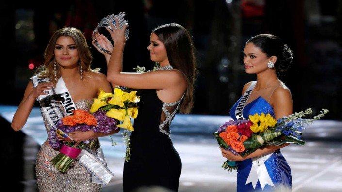 Miss Universe 2015 Pia Wurtzbach Steve Harvey