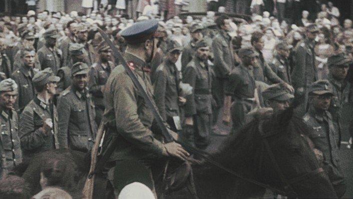 Défilé des prisonniers de guerre allemands à Moscou - 1944