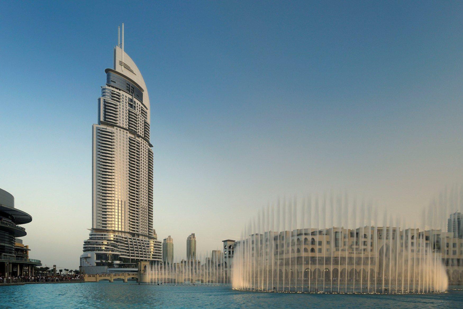 Address Downtown Dubai: violente incendie dans un hôtel 5 étoiles