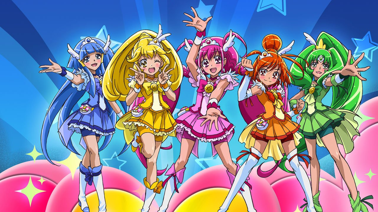 Pretty Cure: un recueil d'illustrations pour PreCure