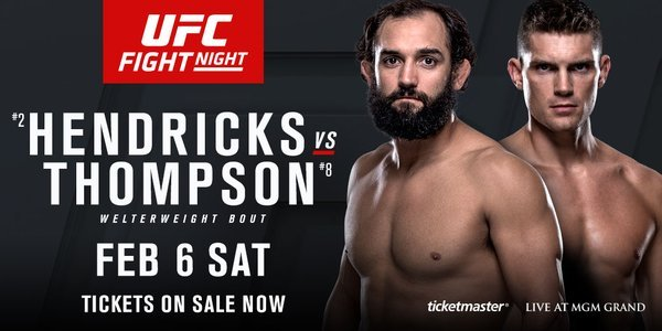 UFC Fight Night: Hendricks vs Thompson
