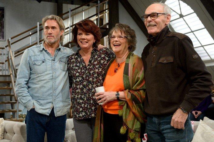 Les Filles de Caleb: Roy Dupuis, Marina Orsini, Arlette Cousture et Jean Beaudin