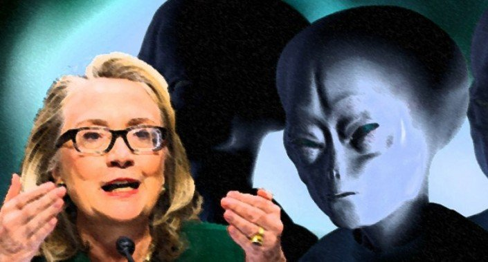 hillary-aliens- ovni