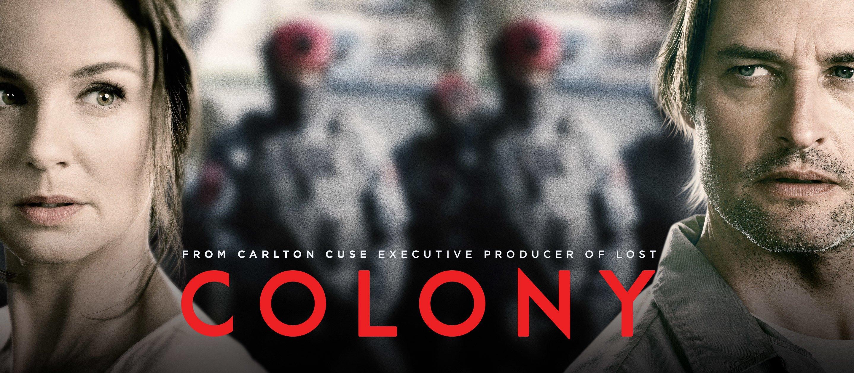 Sarah Wayne Callies And Jon Bernthal Colony: la série ...