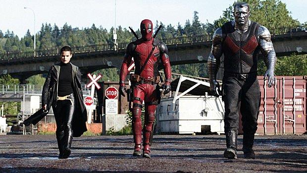 Negasonic Teenage Warhead, Deadpool et Colossus prêts à en découdre...