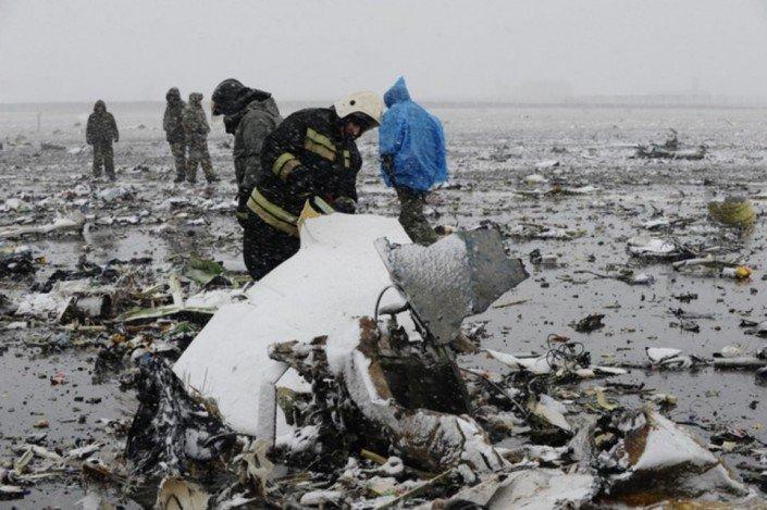 Le crash du Boeing 737 en Russie