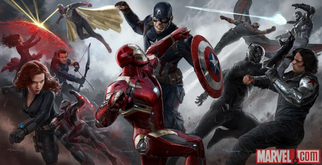 Captain America: Civil War: c'est La guerre civile
