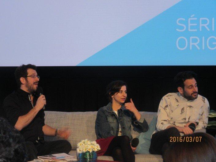 Martin Laroche, Sonia Cordeau et Vincent Fafard