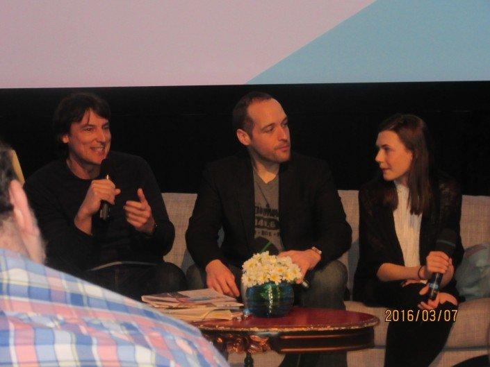 Stéphane Brouillard, Jimmy Sévigny et Jade Charbonneau