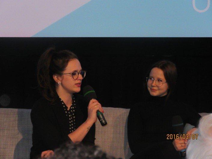 Sophie Belhamer et Juliette Gosselin