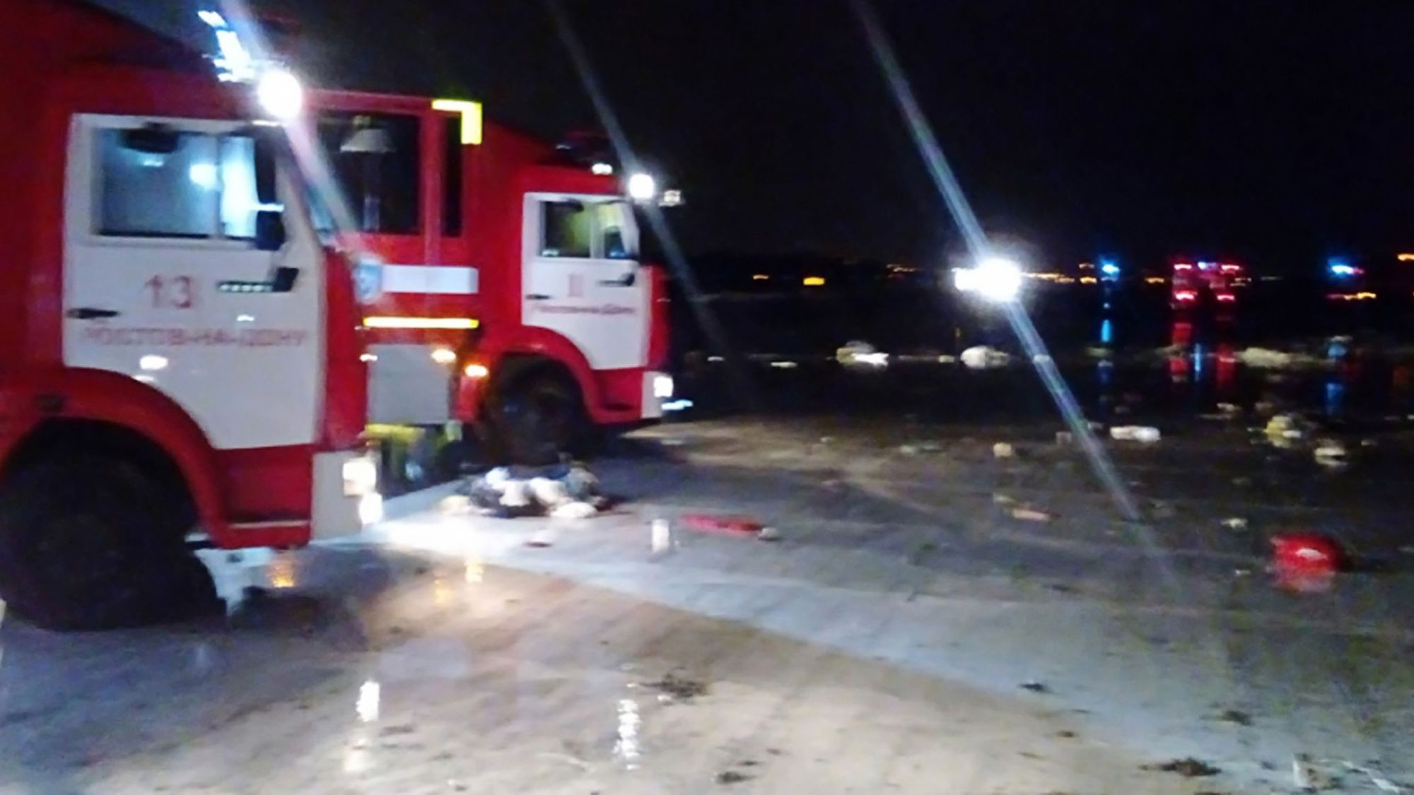 Le crash du Boeing 737 en Russie a été filmé  (vidéo)