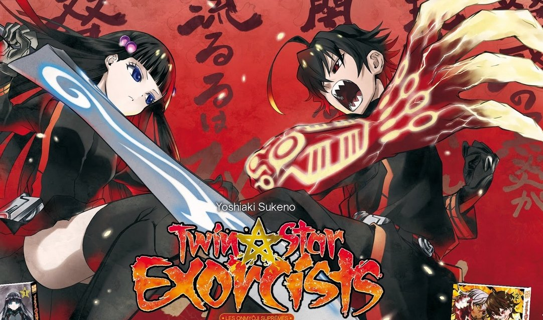 Twin Star Exorcists et Anne-Happy sur Crunchyroll