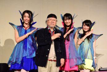 Cupitron: le groupe d'idoles porte des costumes conçus par Leiji Matsumoto