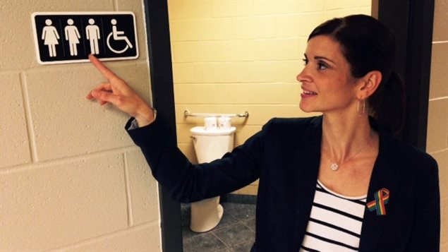 Des toilettes accessibles aux personnes transgenres dans une école de Moncton