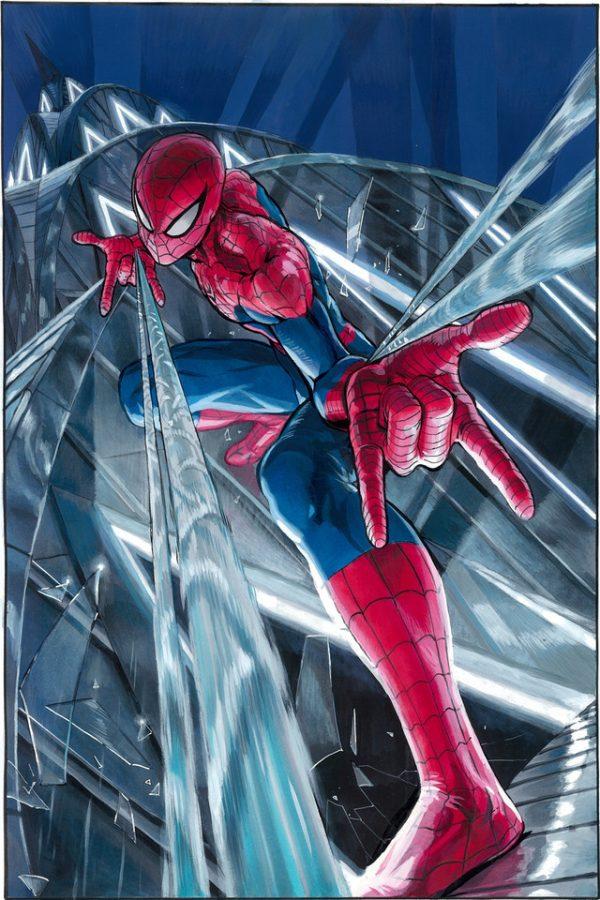 Yûsuke Murata dessine Spider-Man