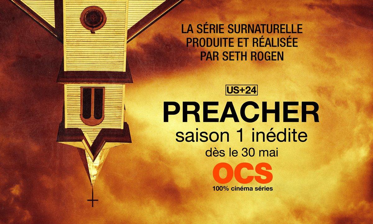 Preacher arrive en France sur OCS Choc
