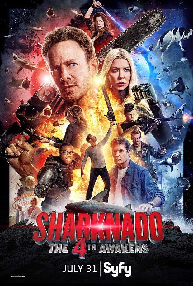 Sharknado: The 4th Awakens poster