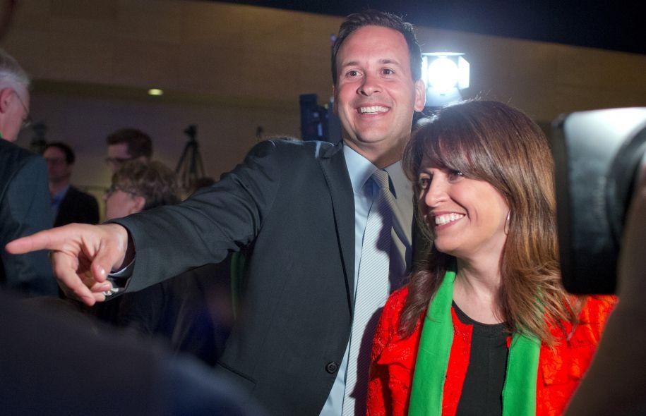 Alexandre Cloutier et Véronique Hivon, deux candidats vides